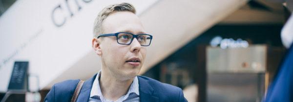 Kansanedustaja Matias Marttinen