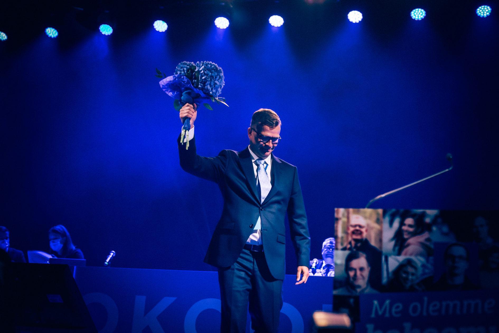 Petteri Orpo, valinta puoluekokouksessa 2020
